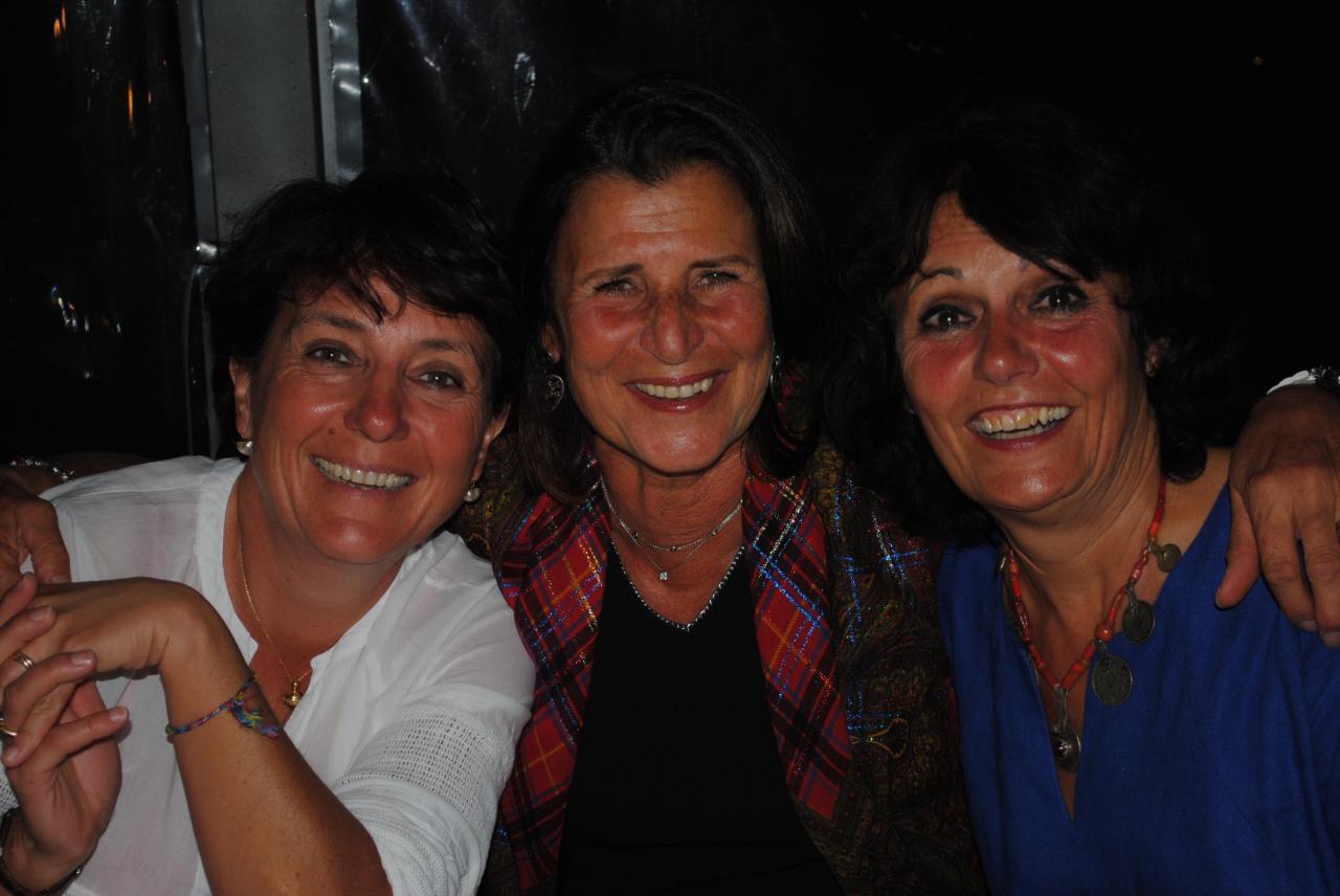 Françoise, Agnès et Yolande